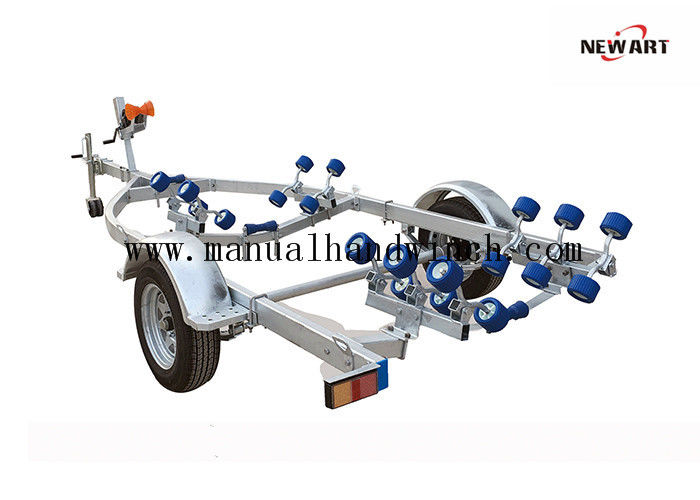 Aluminum Steel Galvanized Boat Trailer Frame Weight 220 kg OEM Accepted